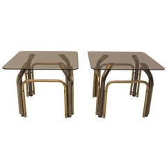 Mid Century Modern  Matching Pair of Coffee Tables, Italy, 1970´s