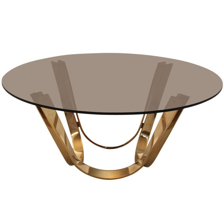 brass coffee table 1950s marble and brass coffee tablepaul m