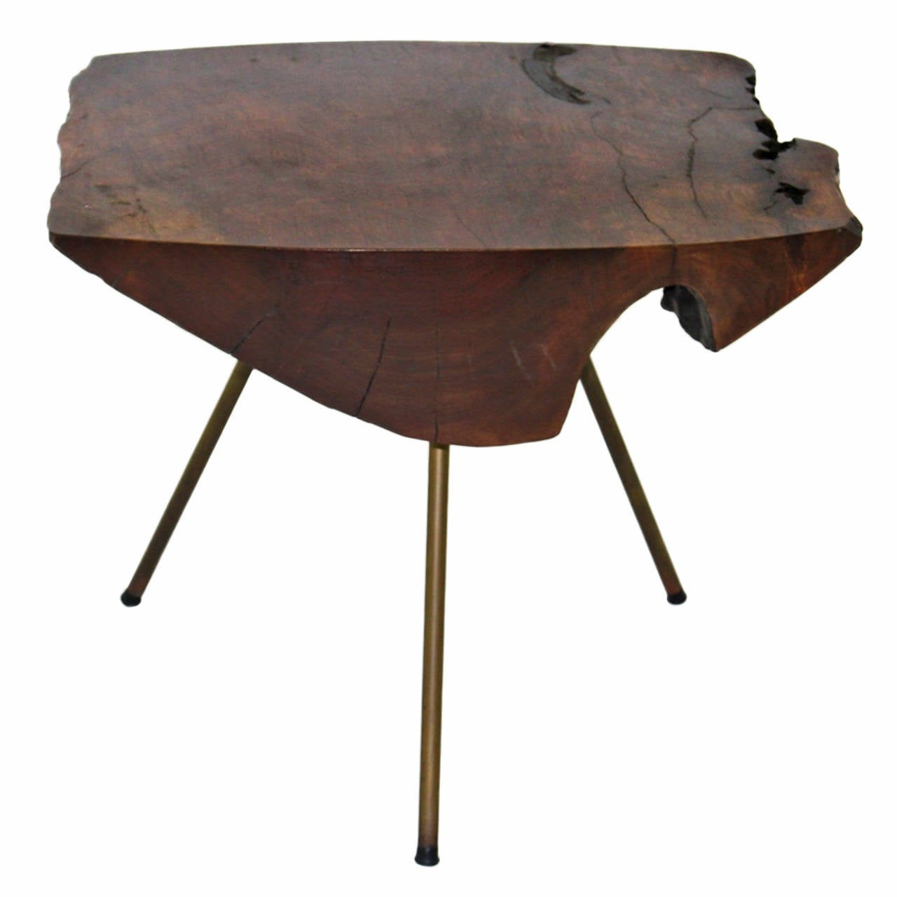 Tree Trunk Table By Carl Aub Ck Vienna Austria 1950s For