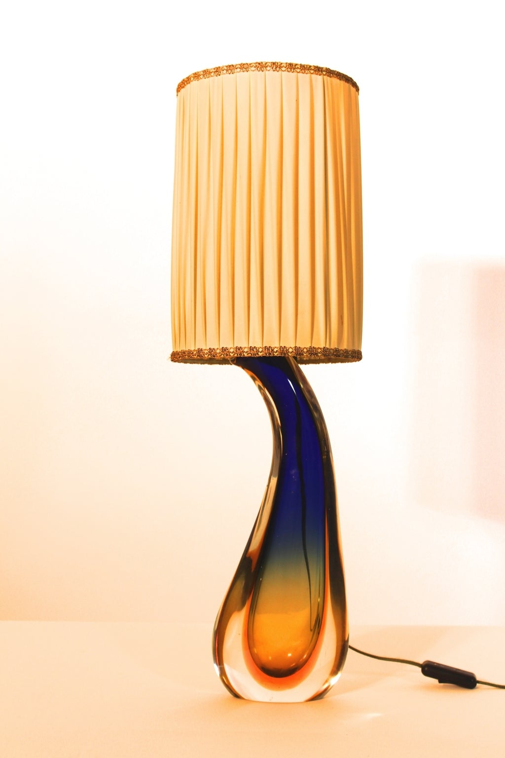 Poli Italy  City new picture : ... Glass Table Light by Flavio Poli, Italy, 1950s For Sale at 1stdibs
