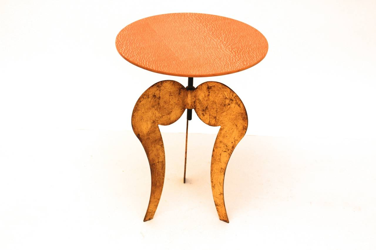 Post-Modern Side Table by Sergio Terzani Italy 1985 For Sale