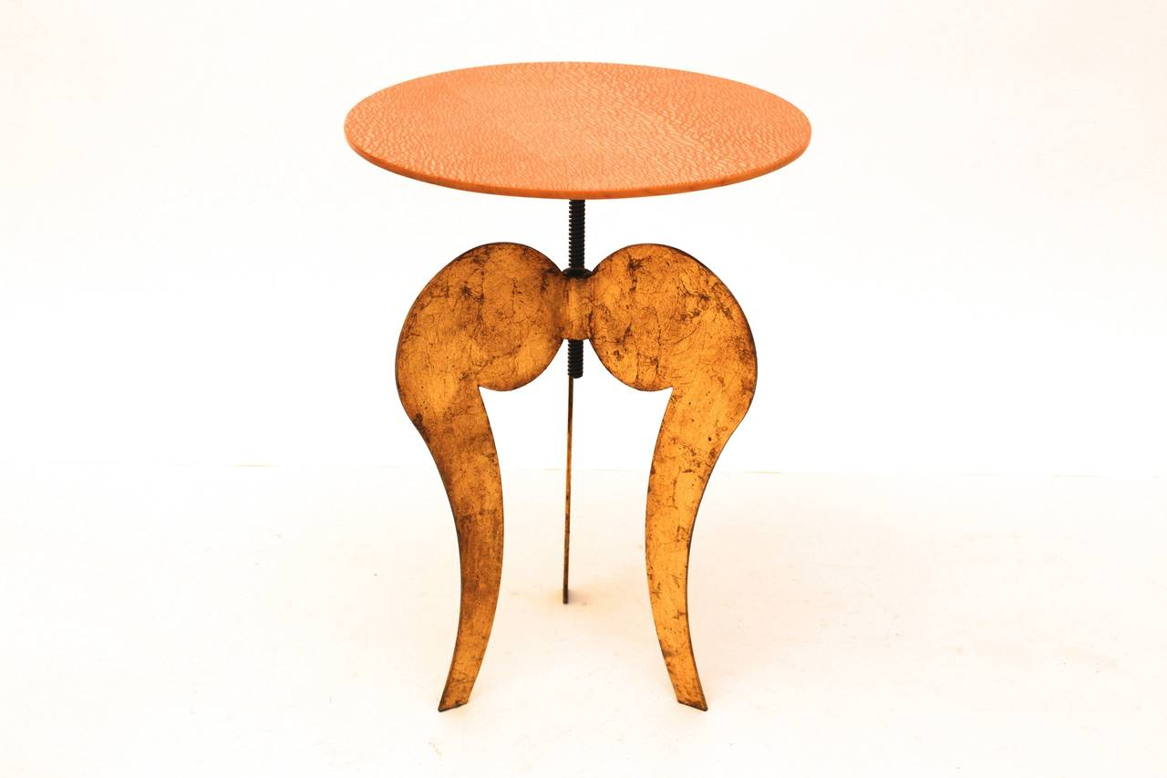 Italian Side Table by Sergio Terzani Italy 1985 For Sale