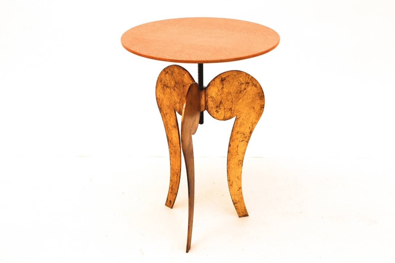 Side Table by Sergio Terzani Italy 1985 In Good Condition For Sale In Vienna, AT