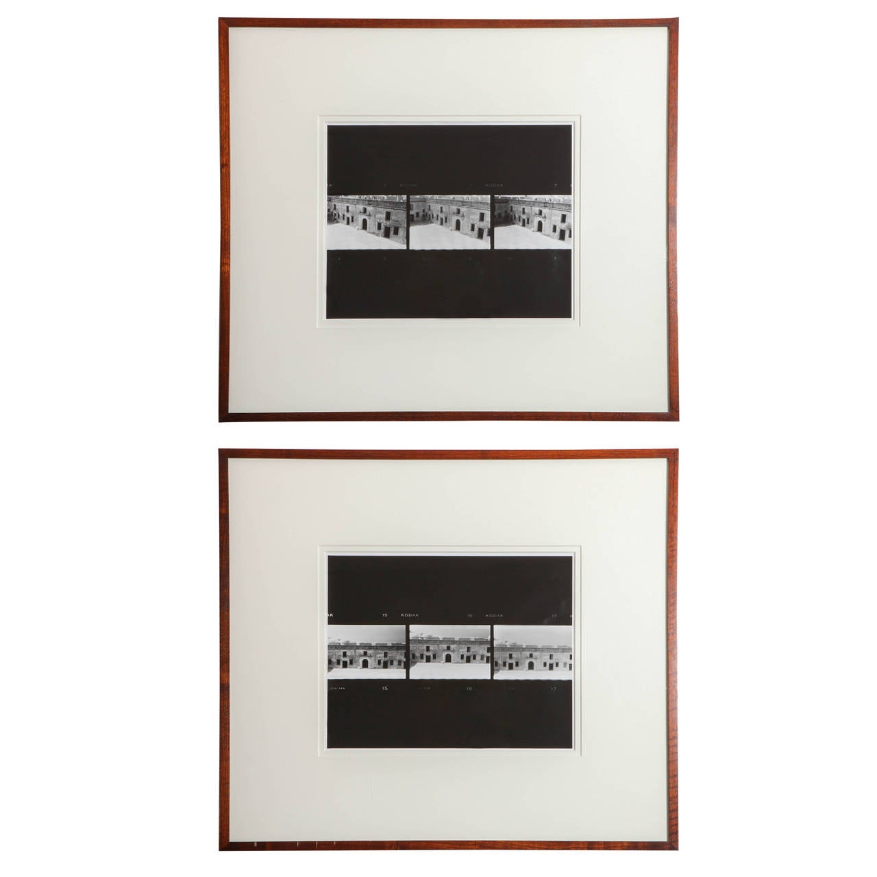 Two Framed Photographic Prints by Thomas League 1