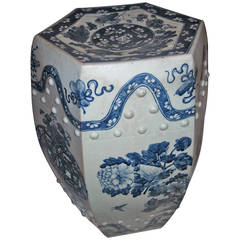 20th Century Chinese Porcelain Garden Seat