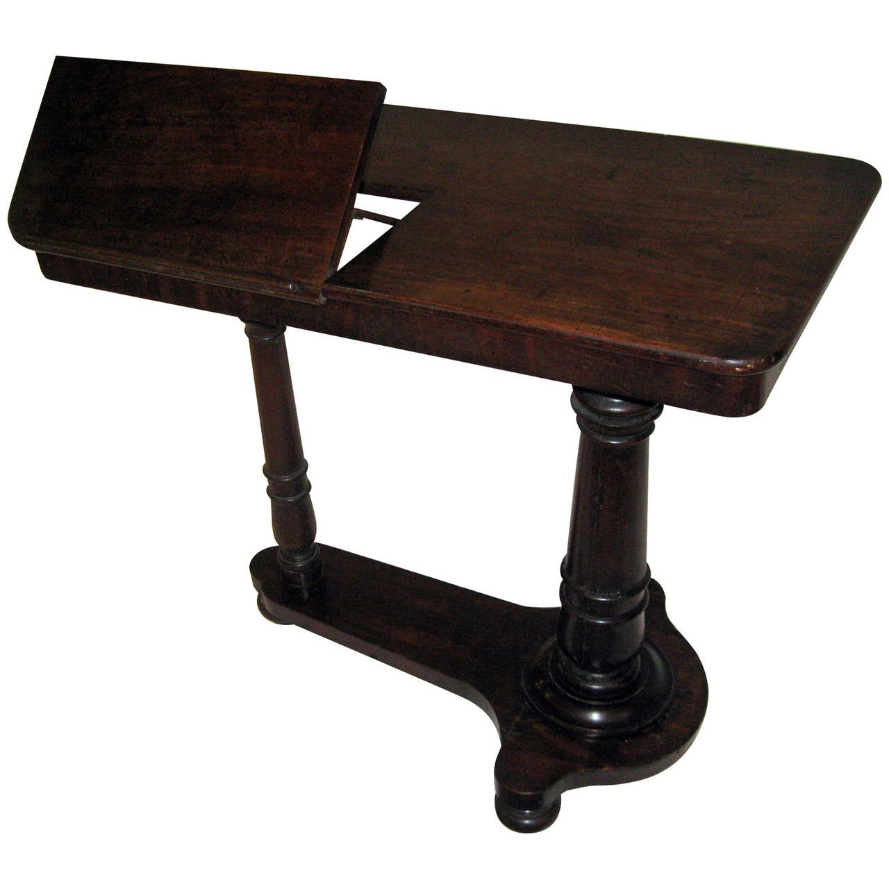 19th century english regency adjustable reading table at for Table quiz hannover
