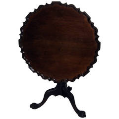 19th Century Chippendale Tilt-Top Table
