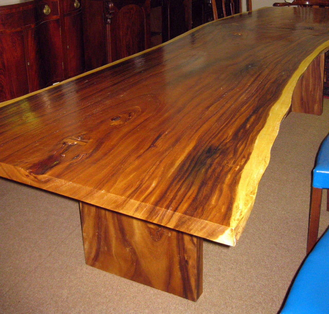 Slab Live Edge Dining Table Image 10