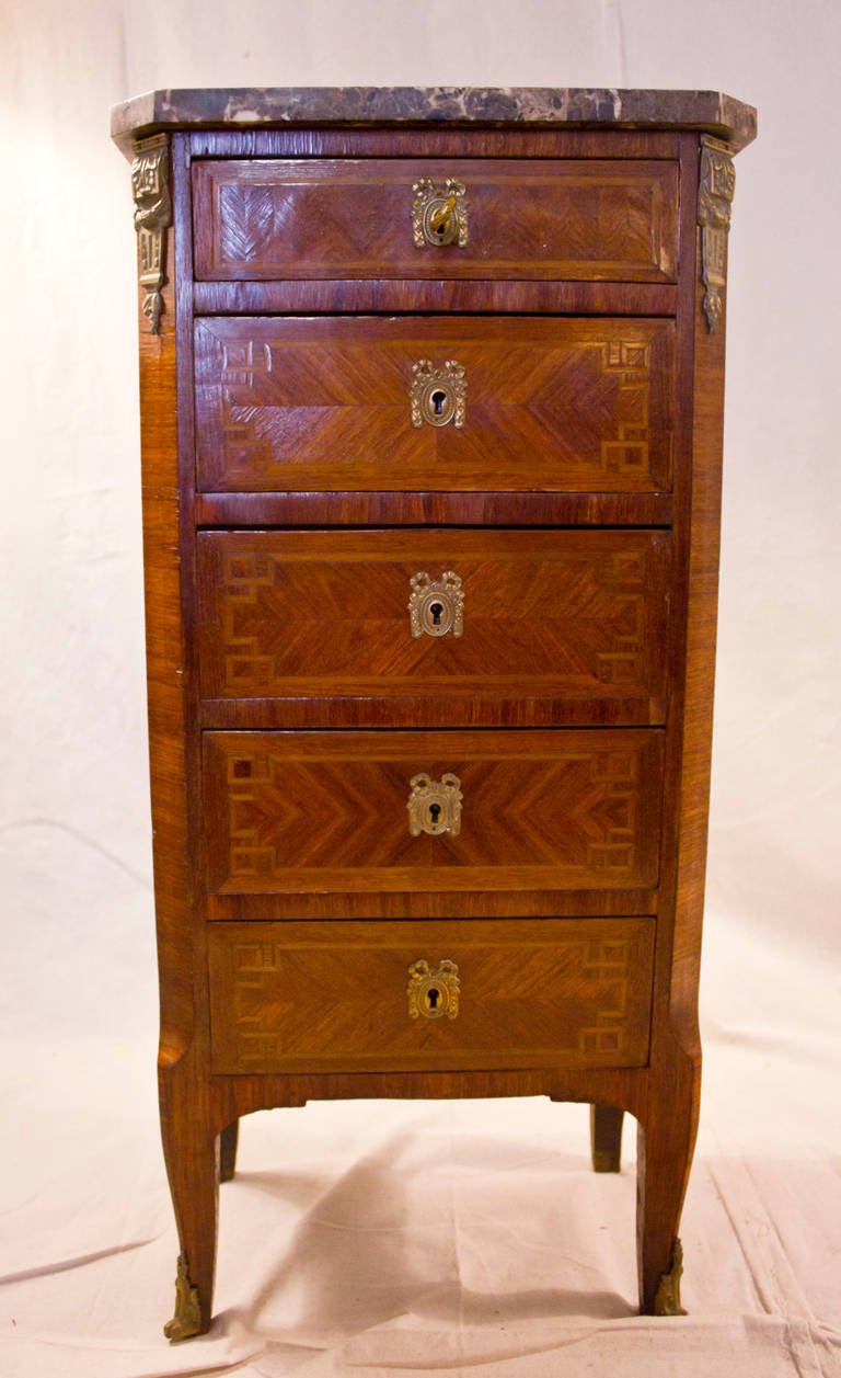 Second Empire French Lingerie Chest At 1stdibs