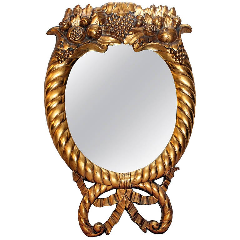 Gilt American Empire Style Mirror