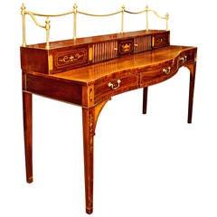 18th Century Hepplewhite English Mahogany Sideboard