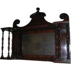 19th century Chippendale Style Hanging Wall Shelf