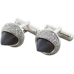 Ambrosi Moonstone Diamond Cufflinks