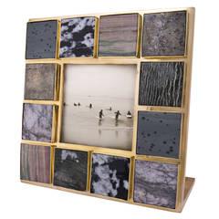 Curated Gemstone Frame
