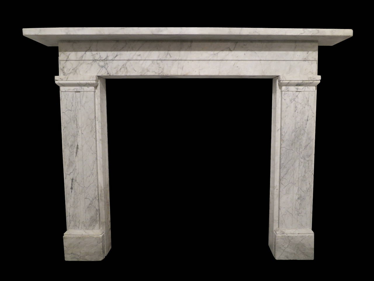 Antique william iv marble fireplace mantel for sale at 1stdibs for Marble mantels for sale