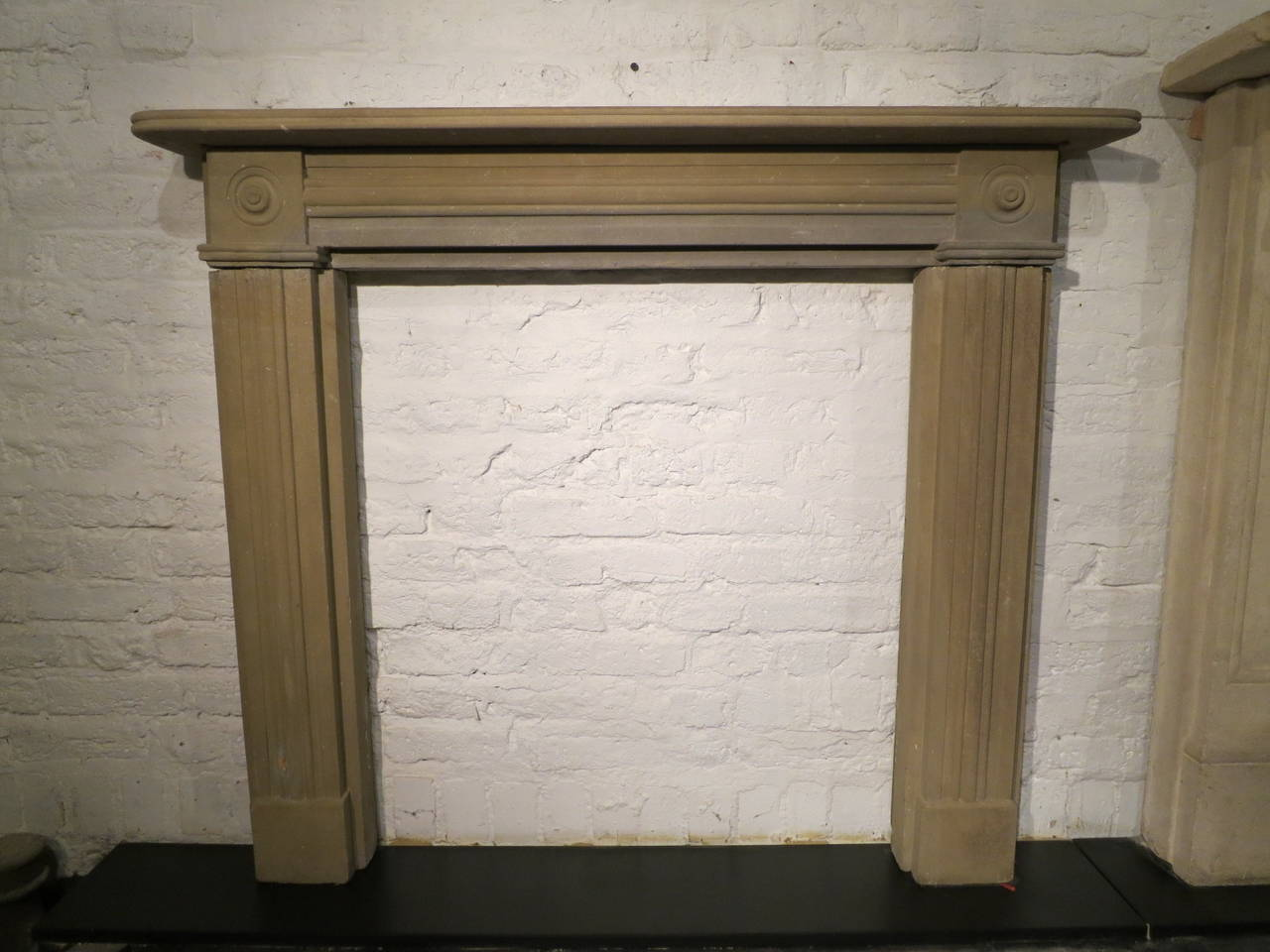 antique regency stone fireplace mantel for sale at 1stdibs