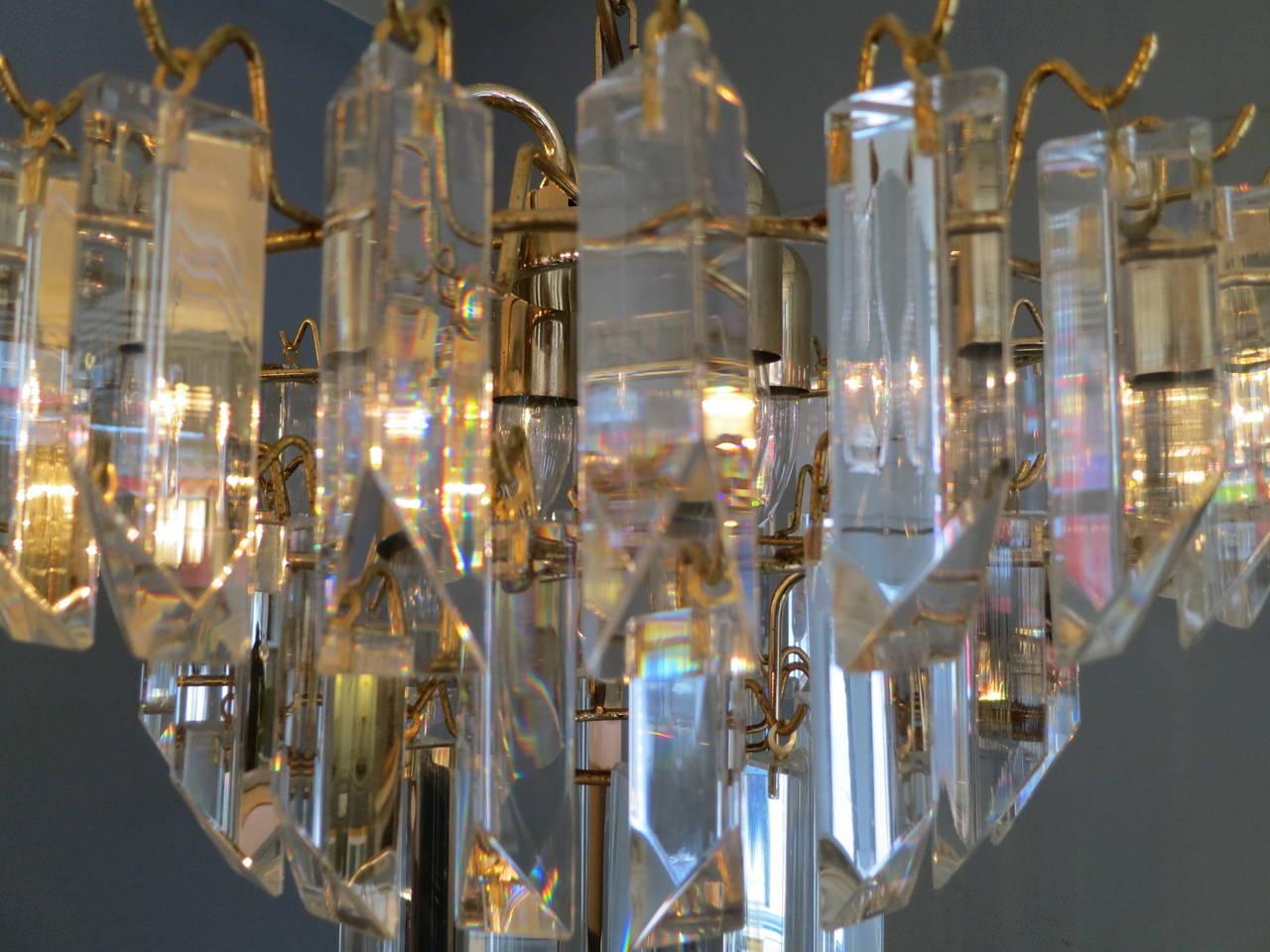 Crystal Italian Murano Chandelier 1