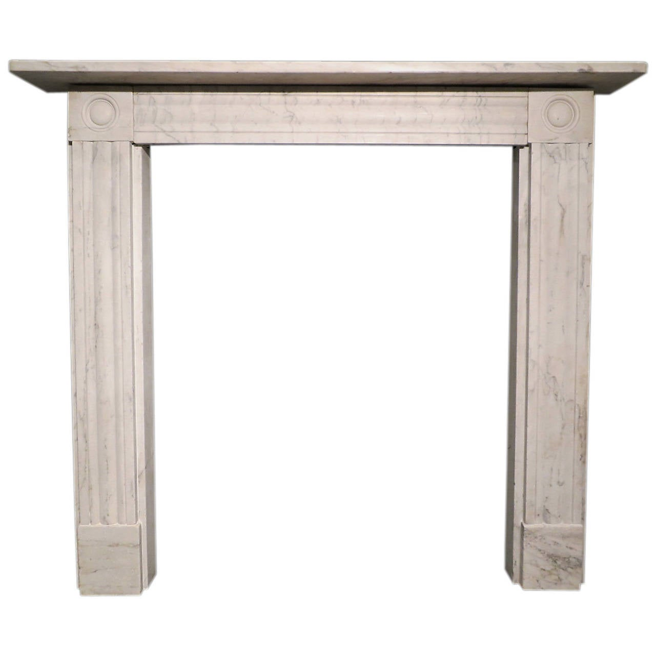 this antique regency marble fireplace mantel is no longer available