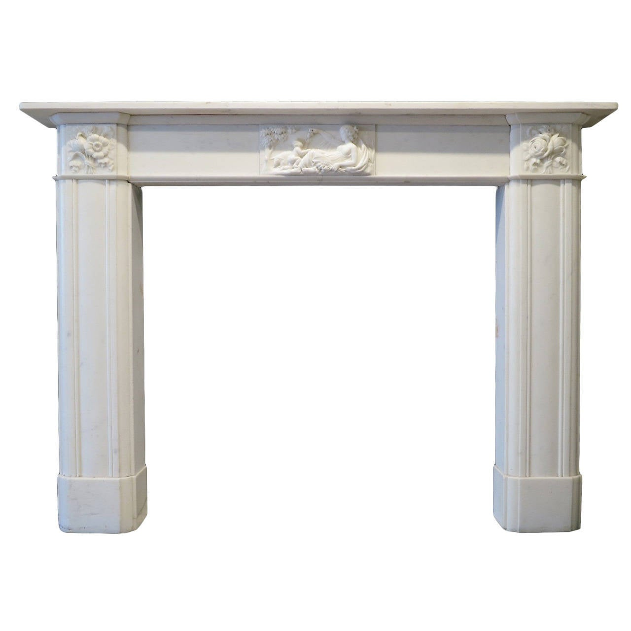 antique regency marble fireplace mantel at 1stdibs