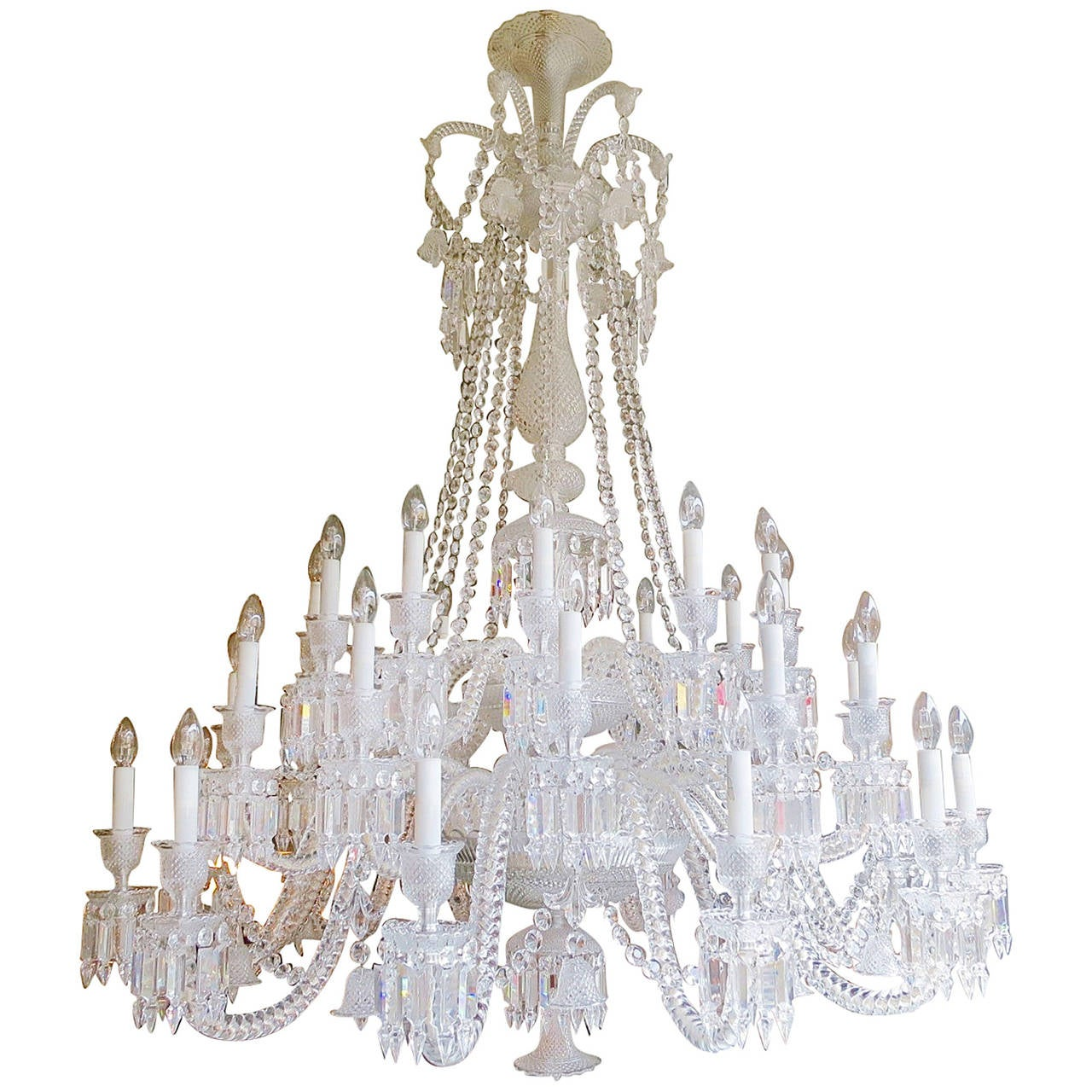Large thirty six arm baccarat zenith chandelier designed by large thirty six arm baccarat zenith chandelier designed by philippe starck 1 arubaitofo Images
