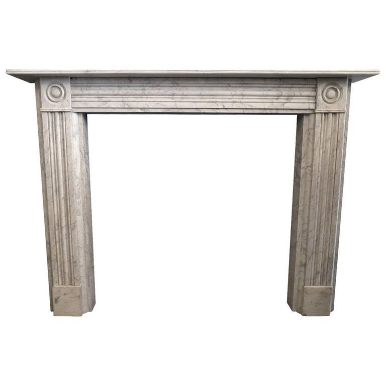 antique marble fireplace mantels. Antique Regency Marble Fireplace Mantel 2 For Sale at 1stdibs
