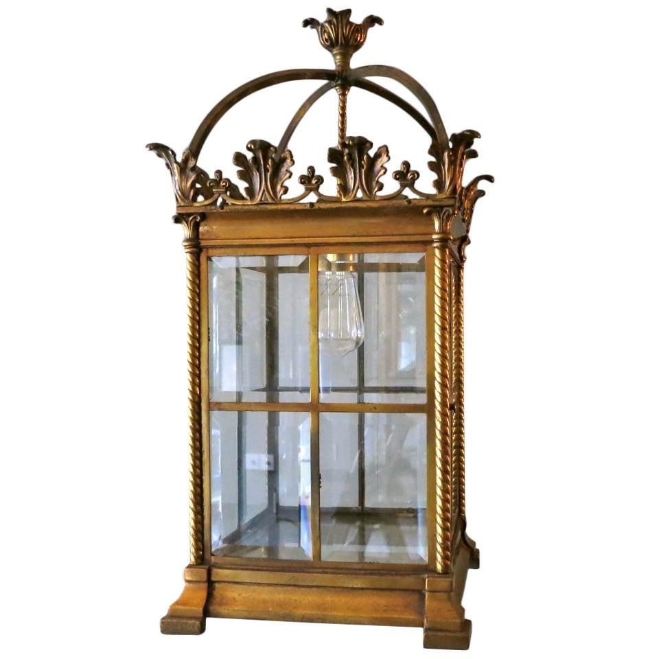 19th Century Antique Lantern For Sale