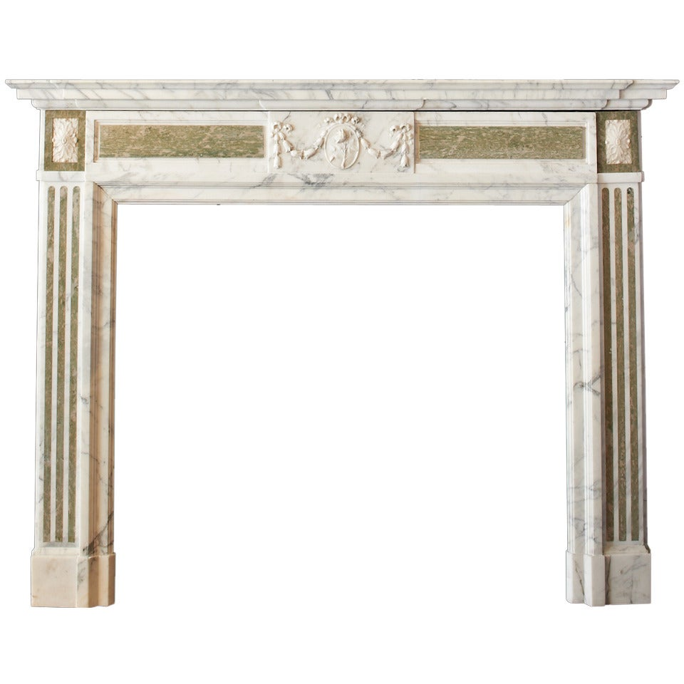 antique marble georgian style fireplace mantle at 1stdibs