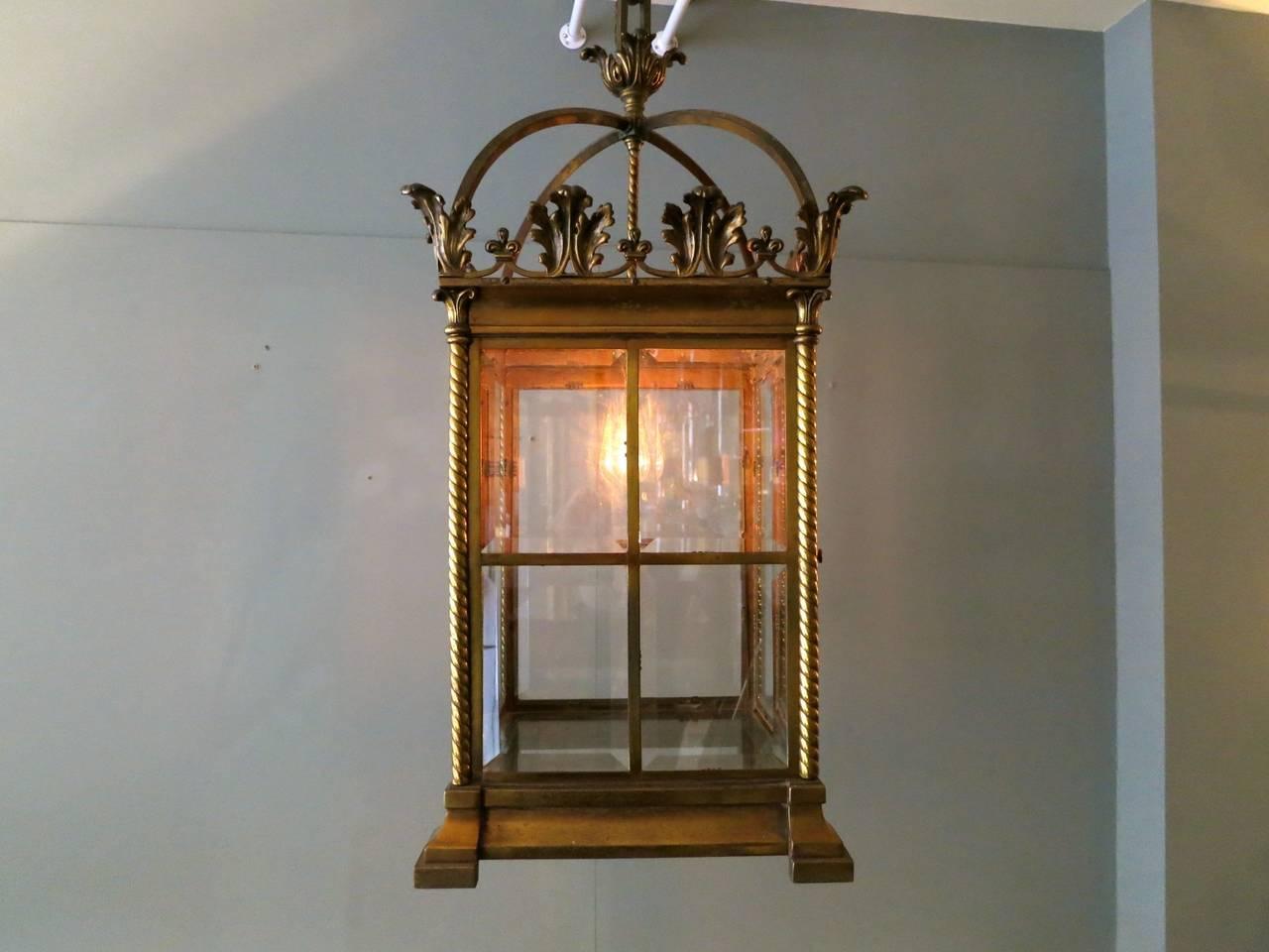 Empire 19th Century Antique Lantern For Sale