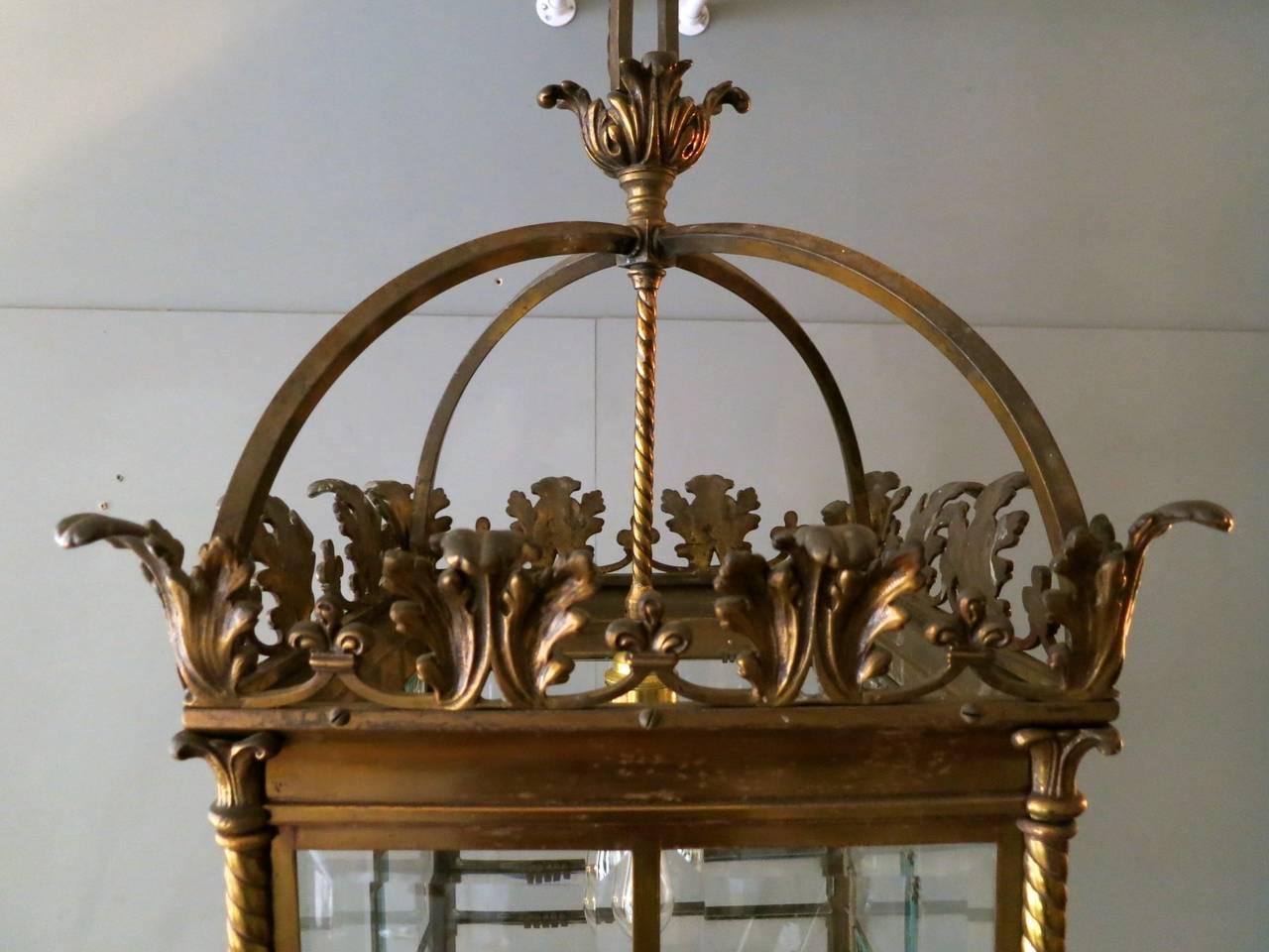 English 19th Century Antique Lantern For Sale