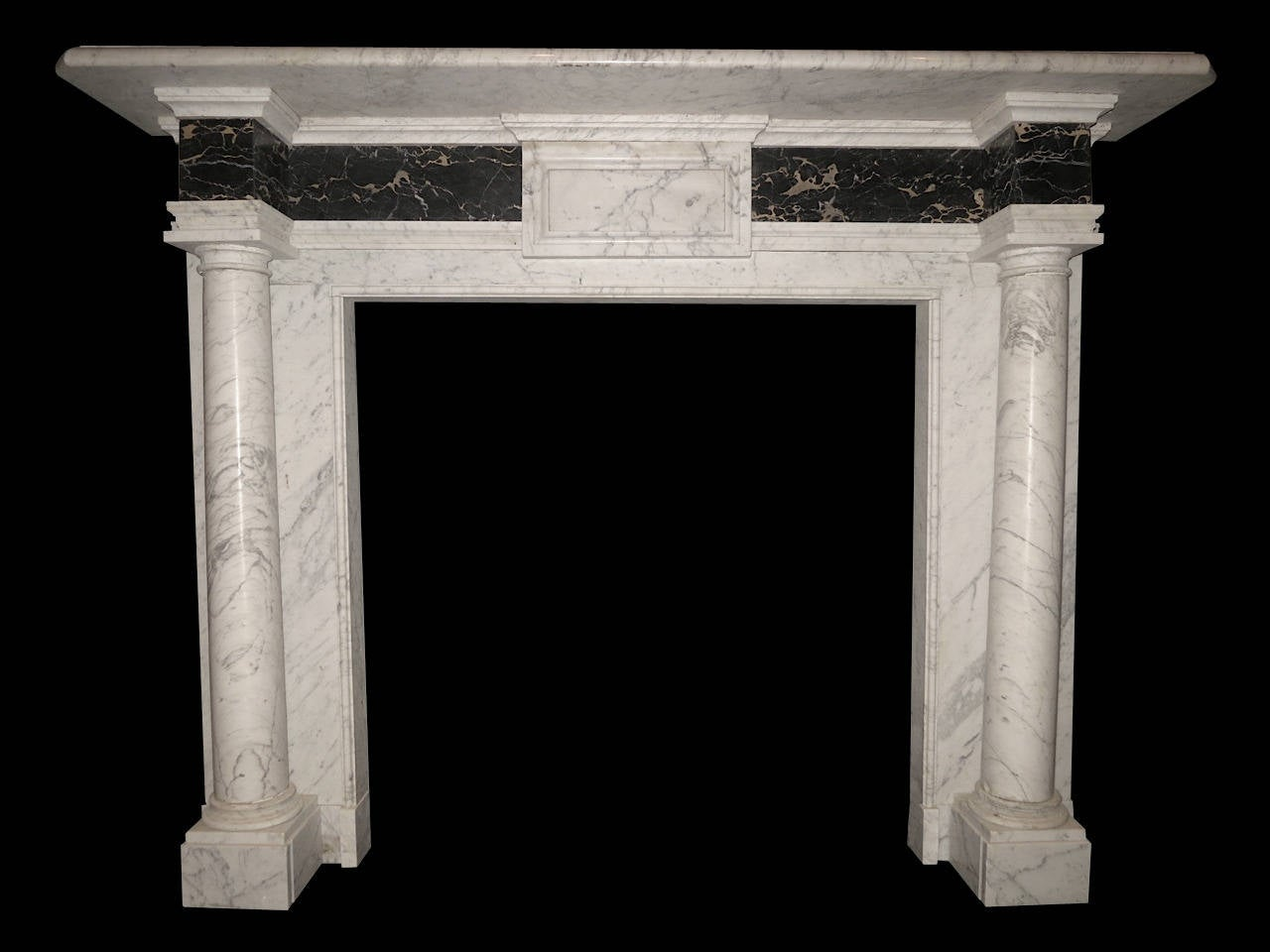 antique marble georgian style fireplace mantel at 1stdibs