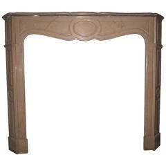19th Century Pompadour Fireplace Mantel
