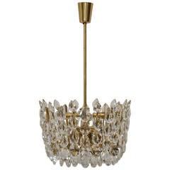 Impressive Bakalowits & Sohne Vienna crystal candelier