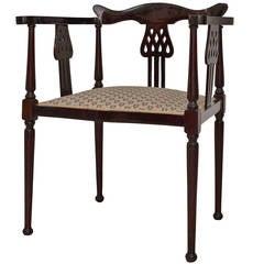 Extraordinary Viennese Chair Mahogany
