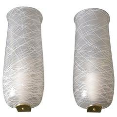 Two Wall Lamps, circa 1960