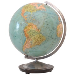 Globe with Nice Warm Glow, made in Germany, 1950s