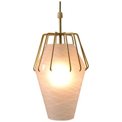 Pendant Light, circa 1960