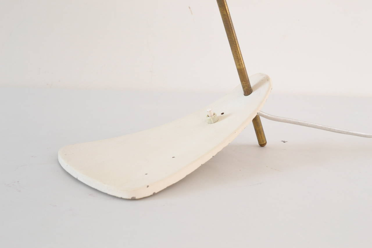 Mid-Century Modern Table Lamp, circa 1950s For Sale