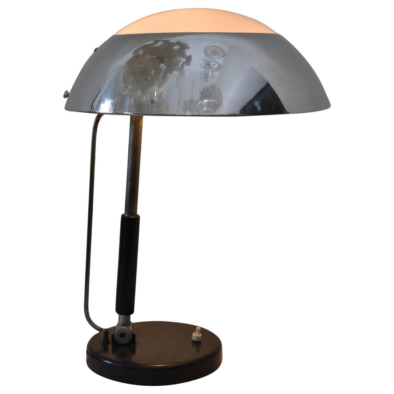karl trabert industrial design desk lamp for sale at 1stdibs ForIndustrial Design Table Lamps
