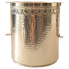 GBN Bavaria Brass Hammered Champagne Cooler
