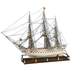 "Model of a Boat ""Prisoner of War Ship,"" 1793-1815"