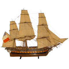 """French 19th Century Arsenal's Type Model of """"The Didon"""" Frigate"""