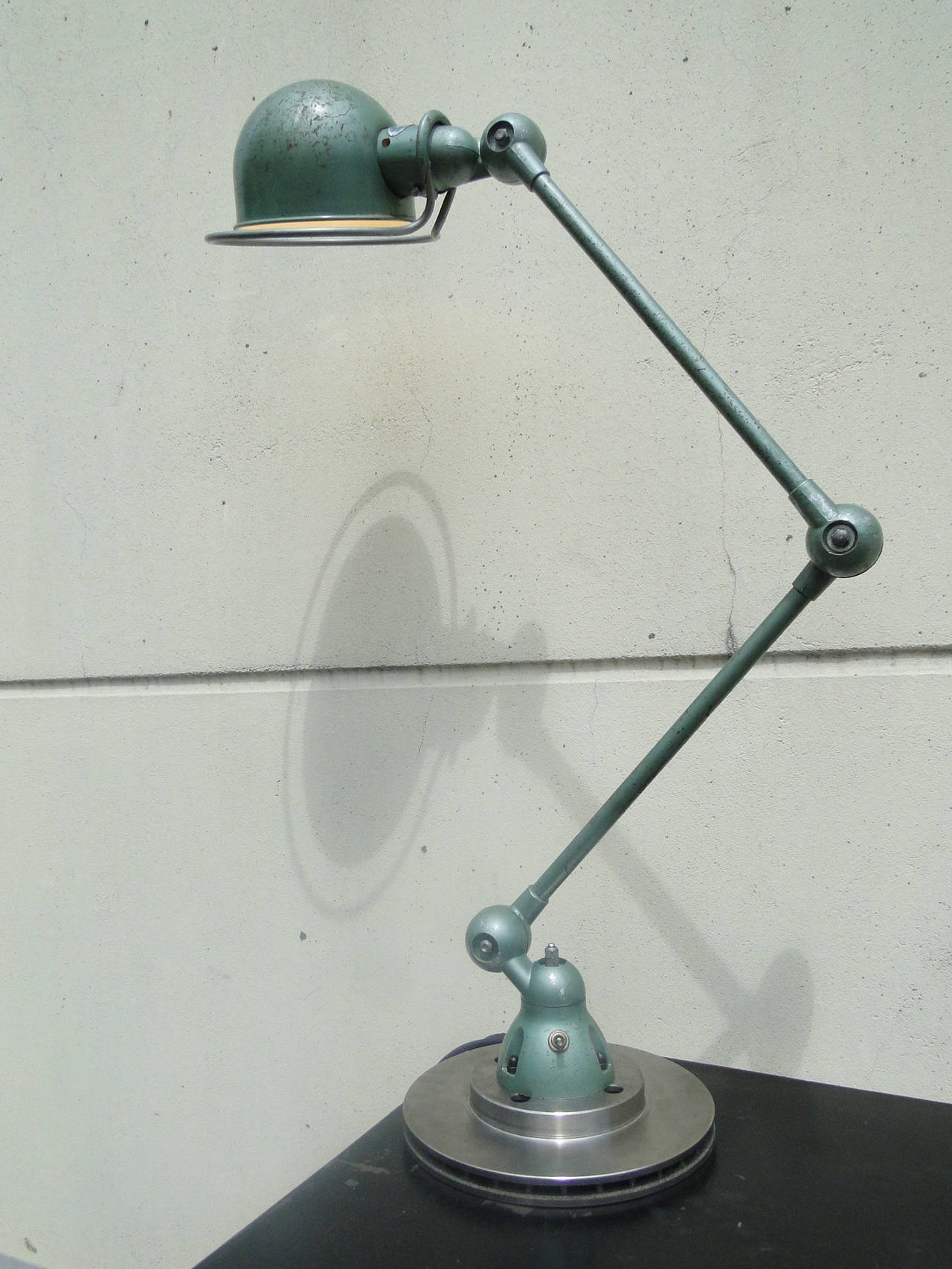 Two arm jielde reading lamp at 1stdibs for 2 arm table lamp