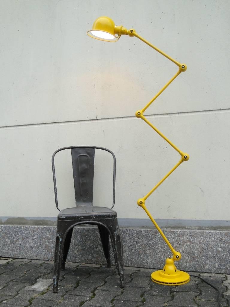 Yellow Floor Lamp - 5 armed jielde floor desk reading lamp yellow 2