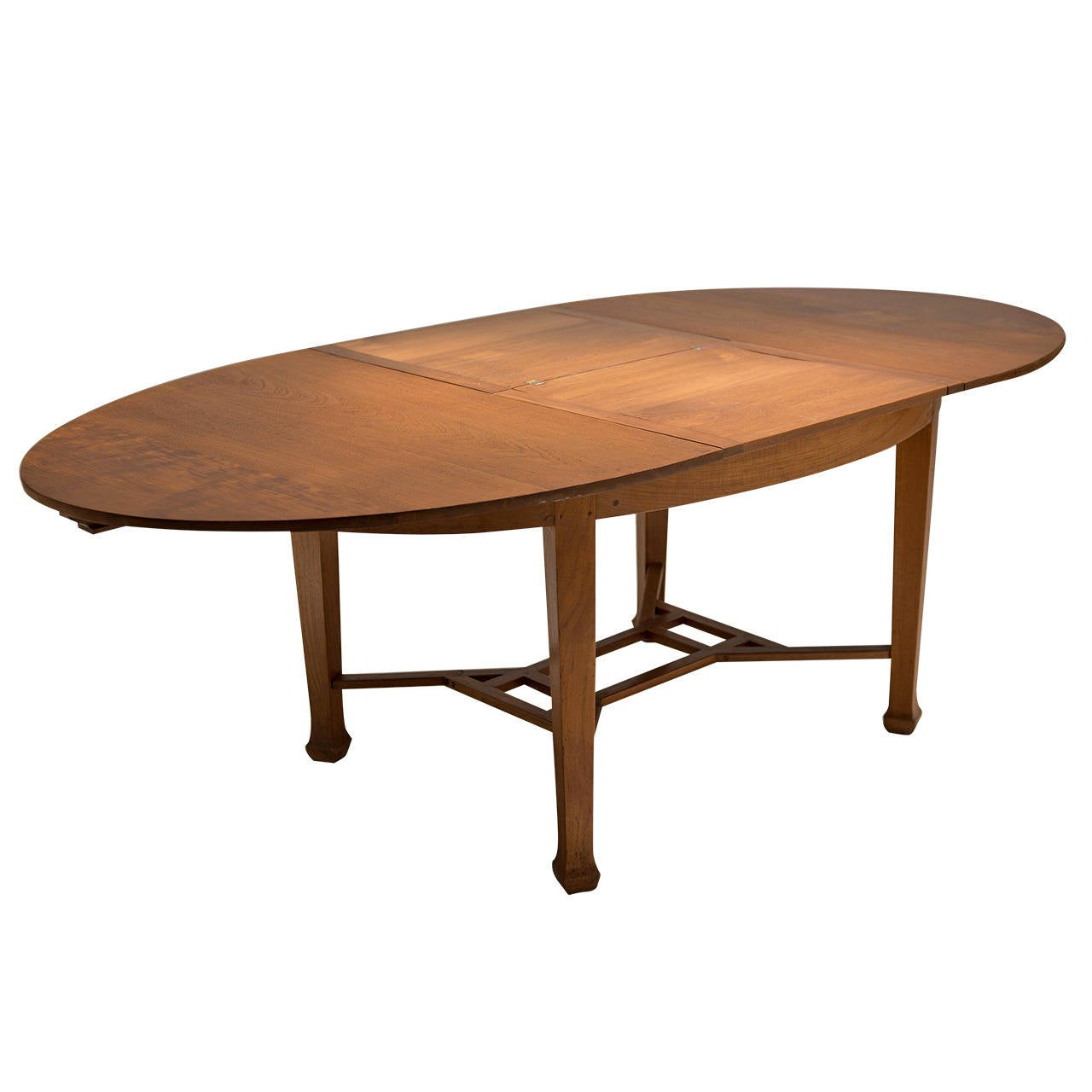 Old Colonial Dining Table With Leaf, Indonesia, Circa 1930