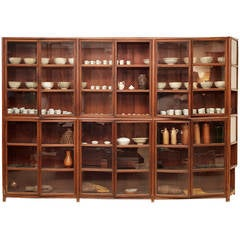 Dutch Colonial Apothecary Cabinets