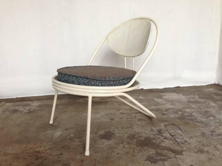 Mathieu Mategot Copacabana lounge chair In Fair Condition For Sale In Heesch, NL