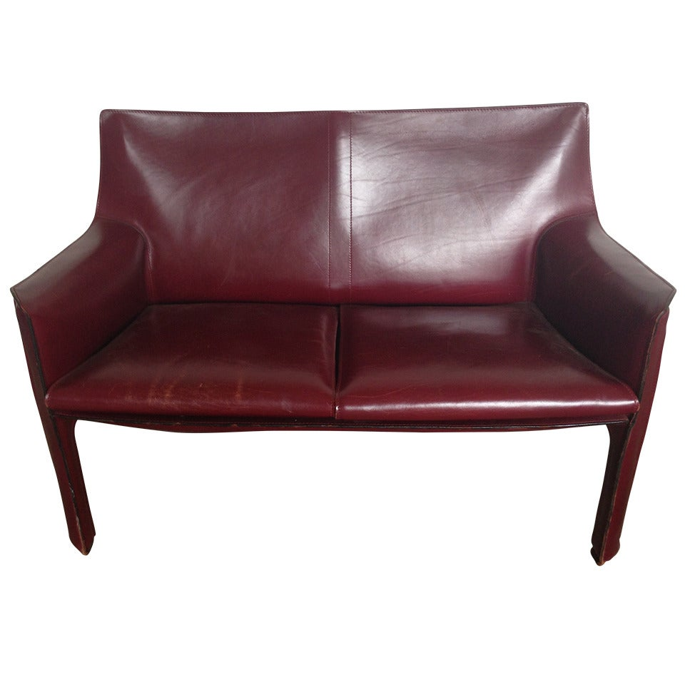 mario bellini cab sofa and armchairs for sale at 1stdibs. Black Bedroom Furniture Sets. Home Design Ideas