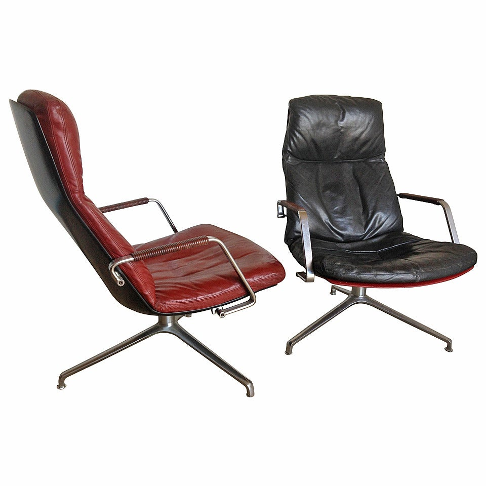 FK-86 Fabricius&Kastholm lounge chairs