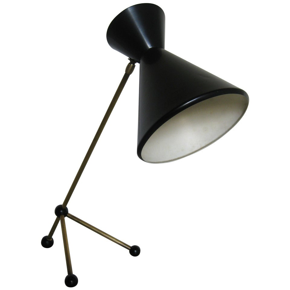 Adjustable 50ies table lamp otto kolb for sale at 1stdibs adjustable 50ies table lamp otto kolb for sale mozeypictures Image collections