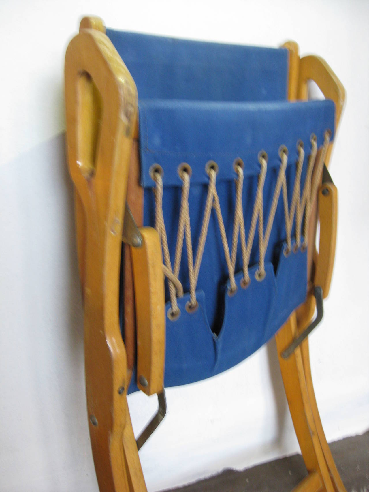 Mid-20th Century Gio ponti Nifea folding chair For Sale